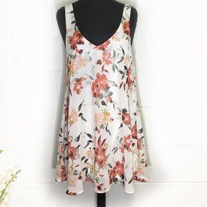 Show Me Your MuMu Samantha Mini Floral Dress